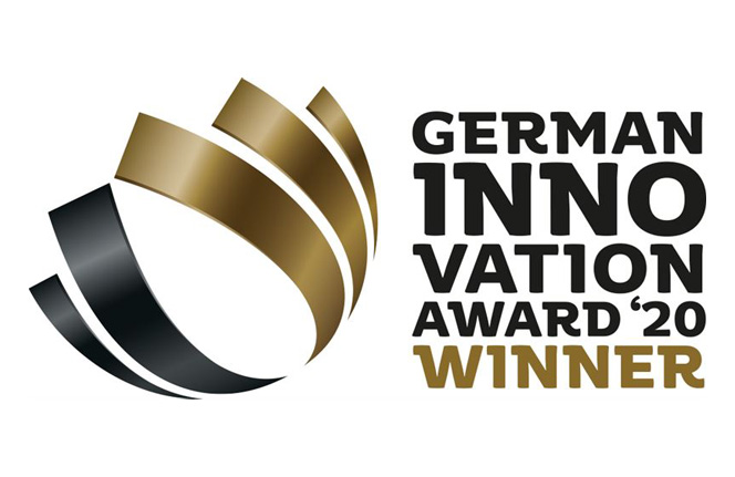 Priznanje za izjemen dizajn:iCOR osvaja nagrado German Innovation Award 2020